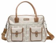 Bébé Jou Luxusní přebalovací taška - krémový puntík