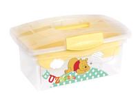 OKT Úložný box na hračky - Winnie Pooh žlutá