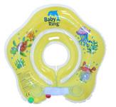 Baby Ring kruh kolem krku pro koupání miminek - 0-24 měs. žlutá