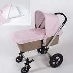 pasito a pasito® Cupcake Potah korby na Bugaboo Cameleon - Pink Baby