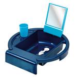 Rotho® Umyvadlo na vanu - Perl blue