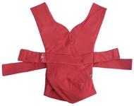 Wallaboo Baby carrier CROSS 100%bavlna - poppy red
