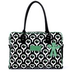 Little Company by Koelstra PopUp Shoulder Bag - Square black/green