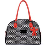 Little Company by Koelstra PopUp Shoulder Bag - Round black/red
