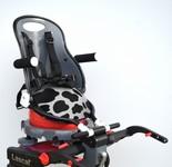 Buggypod Perle Sedátko na židli / stupátko - Fresian cow