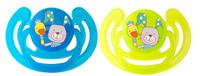 Rotho® Cool Friends Šidítka 2ks 6m+ - Smile- Aquamarine / Apple green