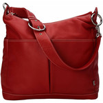 OiOi Hobo Diaper Bag 2 pocket Leather