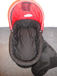 Bazar Baby Jogger Korbička City Micro, Mini, Elite, FIT, Summit (J8P43 Red/Black)