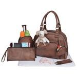 Baby On Board MY CROCO BAG - camel