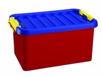 Heidrun Box úložný s víkem 14L