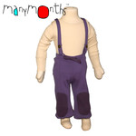 Manymonths kalhoty se šlemi - adventurer 1-2/2,5r fialová