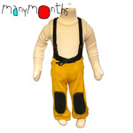 Manymonths kalhoty se šlemi - adventurer 1-2/2,5r žlutá