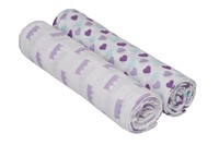 Lässig Swaddle blanket 120x120 little king queen girls