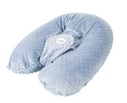 Candide Kojící polštář Multirelax plyšový modrý