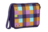 4teens Messenger Bag Big empire dark purple