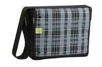 4teens Messenger Bag Big check black