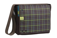 4teens Messenger Bag Big check choco