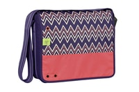 4teens Messenger Bag Big peak dark purple