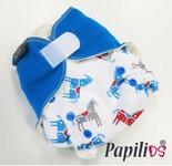 Papilios kapsové plenkové kalhotky jednovelikostní - Modrý koník Patentky