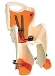 Bellelli Mr. Fox Clamp Zadní cyklosedačka na kolo - Béžová / Oranžová