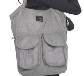 7 A.M. Voyage Diaper Bag Barcelona - Heather Grey
