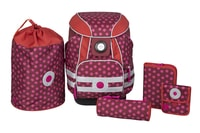School Set Dottie red