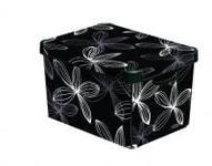 CURVER DECO BOX BLACK L