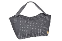 Casual Twin Bag Dotted lines ebony