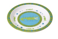 Plate with Silicone crocodile granny