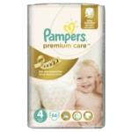 Pampers jednorázové pleny Premium Care 4 Maxi, 66 ks