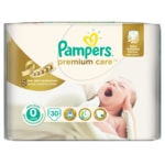 Pampers jednorázové pleny Premium Care 0 Newborn, 30 ks