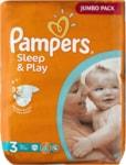 Pampers jednorázové pleny Sleep & Play Jumbo Pack - 3 Midi, 78 ks