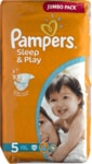 Pampers jednorázové pleny Sleep & Play Jumbo Pack - 5 Junior, 58 ks
