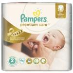 Pampers jednorázové pleny Premium Care 2 Mini, 96 ks
