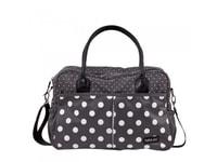 Bébé Jou Luxusní přebalovací taška - Grey dots