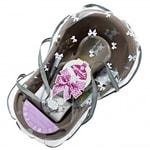 Maltex Novorozenecká dárková startovací sada Zebra - pink