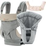 Ergobaby BUNDLE OF JOY sada pro novorozence - Set Bundle 360 Grey