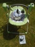 Bazar Babymoov houpačka Swing Bubble Green