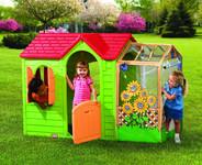Zahradní domeček s rozšířením Little Tikes - Lime Green 490 A
