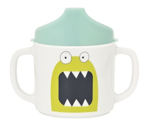 Lässig Cup with Silicone Little Monsters bouncing bob