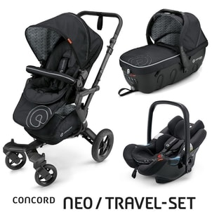 Travel Set Neo Air + Sleeper Midnight Black Concord 2016