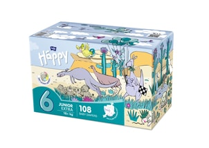 Bella Baby HAPPY Junior Extra Box 54 x 2 ks